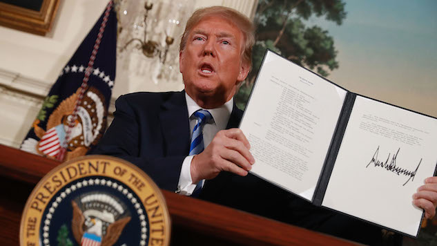 President Trump Announces U.S. Withdrawal from Iran Nuclear Deal