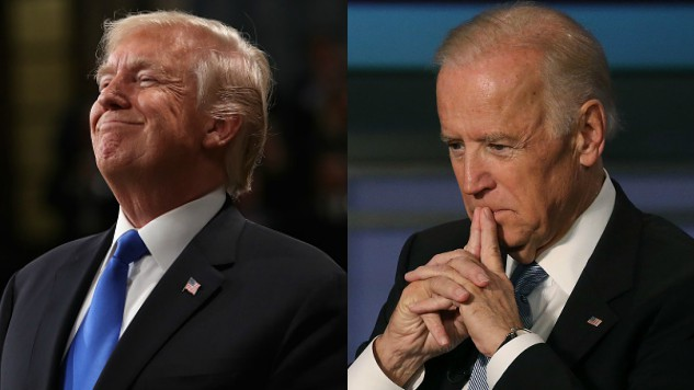 Donald Trump Comes Back at Joe Biden in Twitter Battle Over Who Would Win in a Fistfight