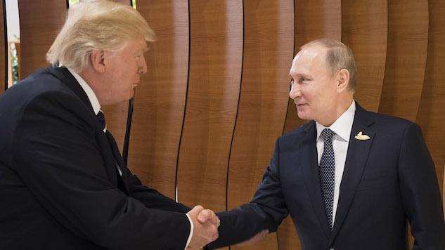 Trump and Putin Meet Face-to-Face at G20 Summit