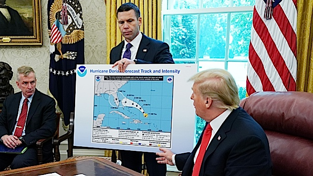 Trump Actually Altered a Hurricane Map to Back up His Dumb Claim That It Would Hit Alabama