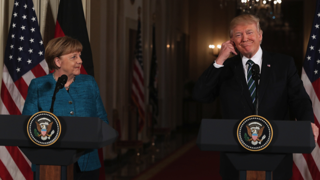 This is the (Russian) Reason Why Trump Refused to Play Nice With Merkel
