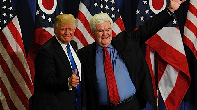 Trump Should Have Picked Newt—They're Perfect For Each Other
