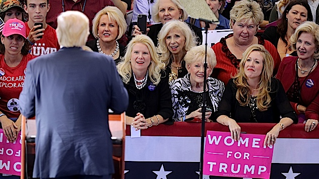 White Women Are Leaving Trump and the Republican Party in Droves