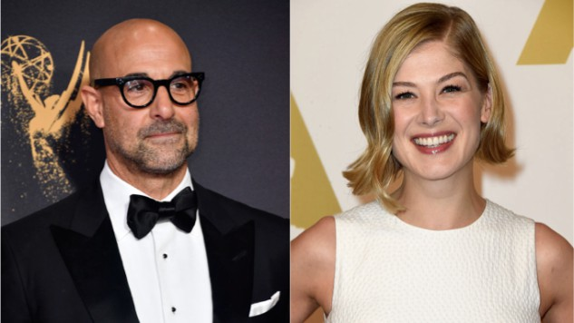 Stanley Tucci Joins Rosamund Pike in Forthcoming Biopic <i>A Private War</i>