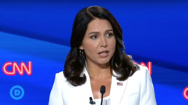 Tulsi Gabbard Bests Other Candidates for Most Google Searches After Night Two of Democratic Debates