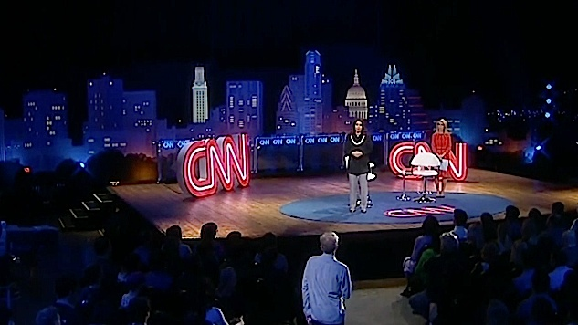 This Year's Model: How CNN's Town Halls Tried, and Failed, to Police Progressive Ideas