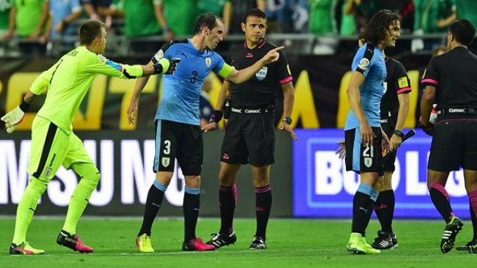 How Uruguay's Anger with the Referee Lost the Match with Mexico
