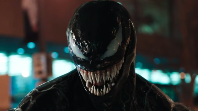 See Tom Hardy's Transformation in First Full <i>Venom</i> Trailer