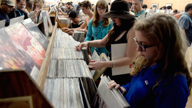 U.S. Vinyl Album Sales Hit Record High in 2017