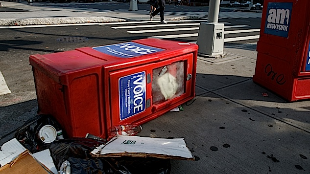 <i>The Village Voice</i> Is Apparently Dead