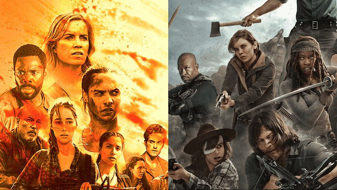 <i>The Walking Dead</i> Will Cross Over With <i>Fear the Walking Dead</i>, Somehow