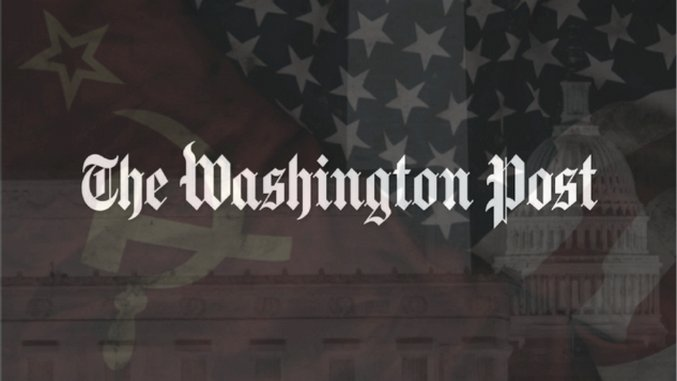 The <i>Washington Post</i> on Syria: A Case Study in the New Cold War Propaganda