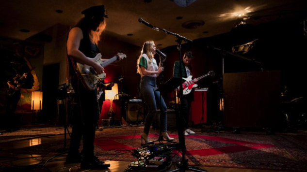 """Watch Miley Cyrus, Mark Ronson and Sean Ono Lennon Perform """"Happy Xmas (War Is Over)"""""""