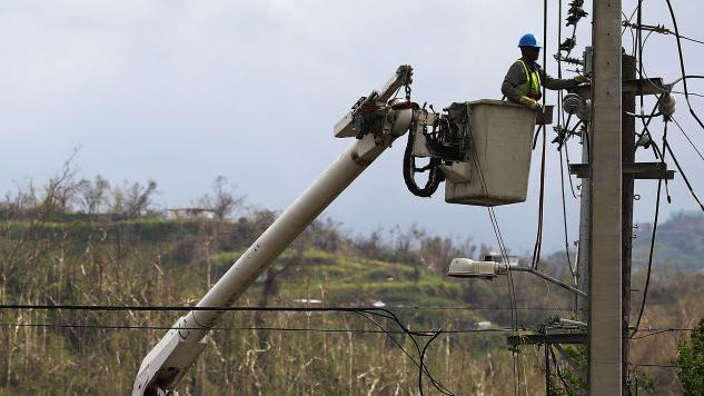 80 Percent of Puerto Rico Without Power After Line Repaired by Whitefish Energy Fails