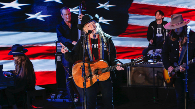"Watch Willie Nelson Perform New Song ""Vote 'Em Out"" on <i>Jimmy Kimmel Live!</i>"