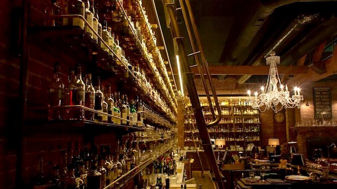 This Might Be The Greatest Whiskey Bar In The World