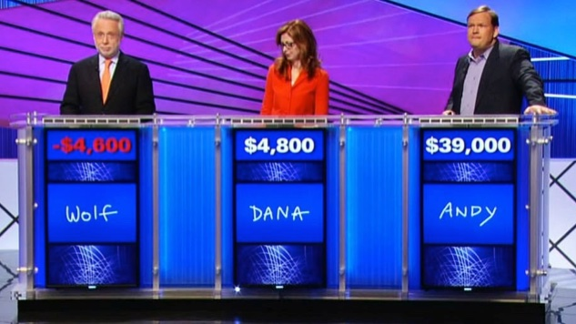 Never Forget How Insanely Bad Wolf Blitzer Was on <i>Jeopardy!</i>