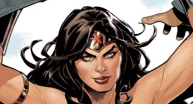 Wonder woman terry dodson
