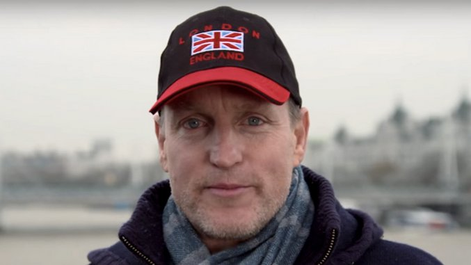 Woody Harrelson is Making a Live Movie