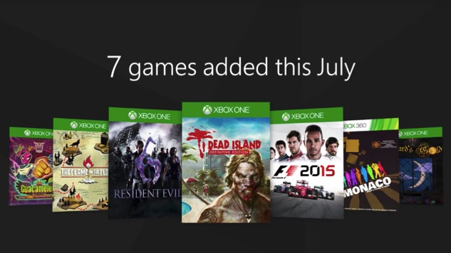 Here's What's Coming to Xbox Games Pass in July