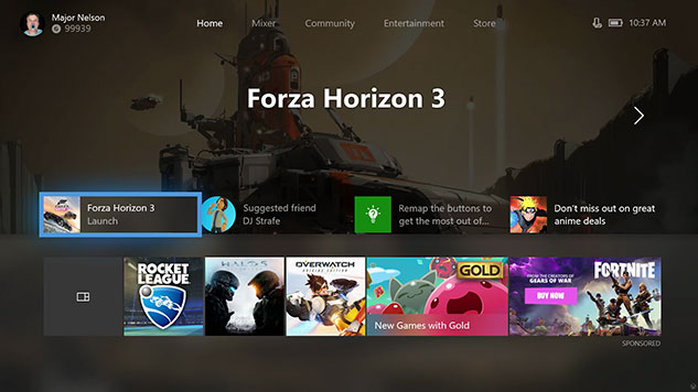 Latest Xbox One Update is Rolling Out Now