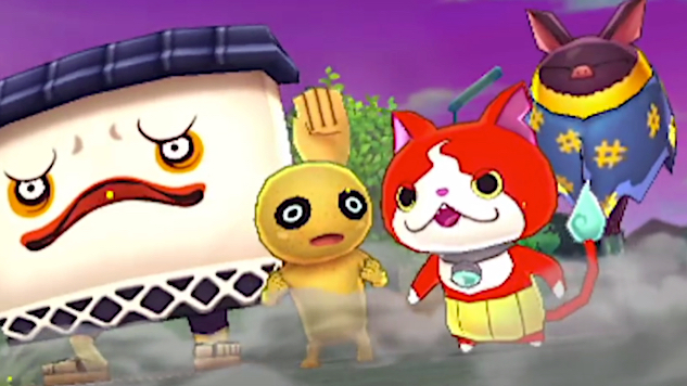 the yo kai watch is back with two new cooperative action games