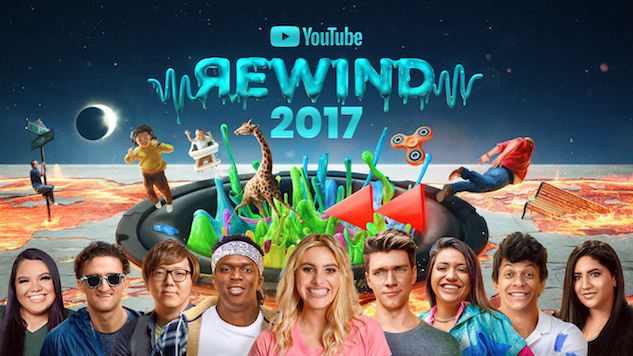 "YouTube Recaps the Trends of the Year with ""The Shape of 2017"""