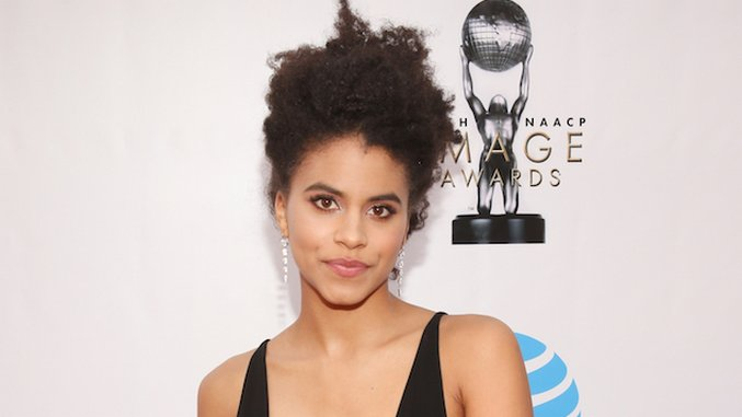 Ryan Reynolds Shares First Look at Zazie Beetz as <i>Deadpool 2</i>'s Domino