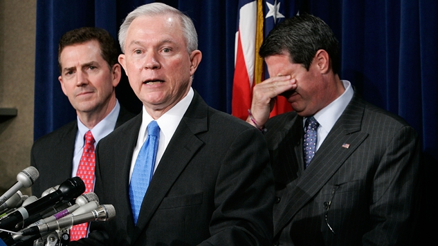 """White Nationalist Jeff Sessions Correctly Uses the Term """"Anglo-American"""""""