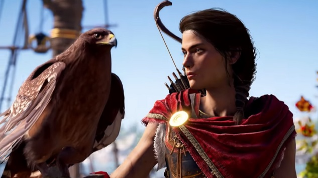 "<i>Assassin&#8217;s Creed Odyssey</i> Needs a Dedicated ""Pet"" Button"