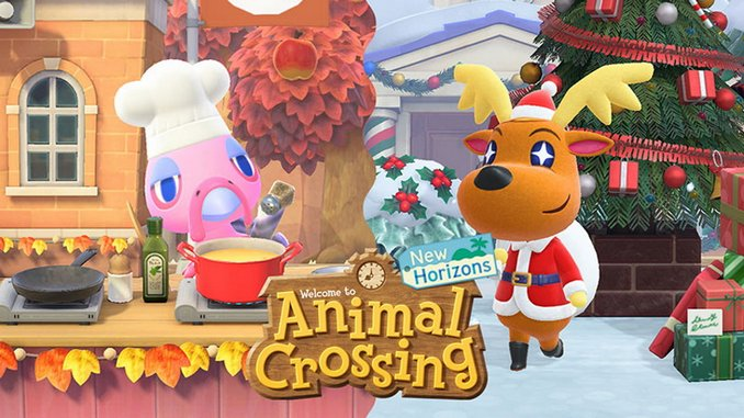 <I>Animal Crossing: New Horizons</I> Adds Save Data Transfers, Holidays, Reactions and Hairstyles in New Winter Update