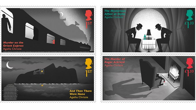 Can You Spot the Clues in Each Scene from the Agatha Christie Stamp Collection?