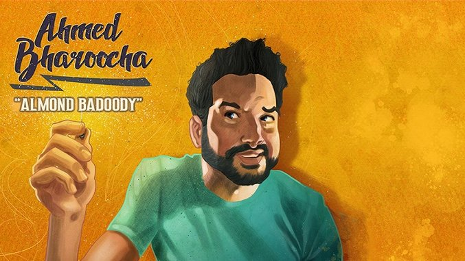 Ahmed Bharoocha's Playful Stand-up Album <i>Almond Badoody</i> is a Delight