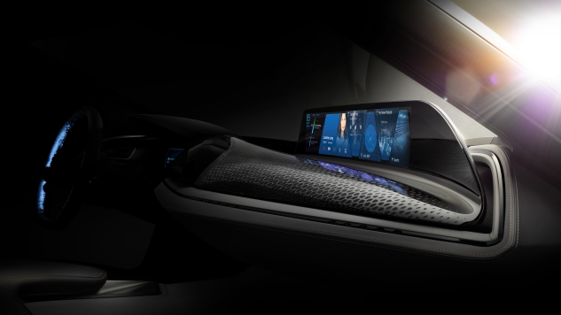 BMW AirTouch: Control Your Car's Display with the Wave of a Hand