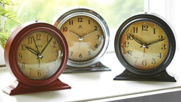 Well-Designed Alarm Clocks to Make You an Early Bird