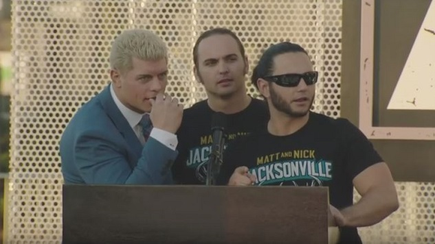 Chris Jericho, WWE's Neville, and More Surprises from All Elite Wrestling's Double or Nothing Rally
