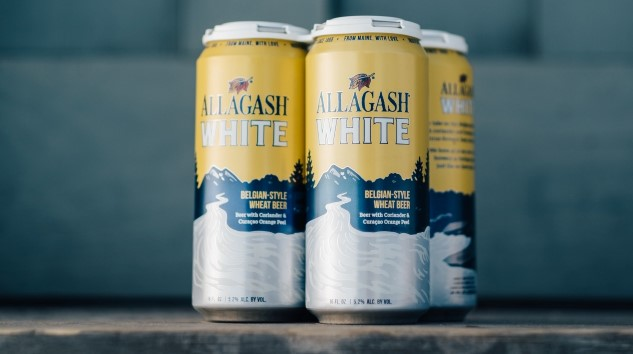 Allagash White in a Can Is a Strange, Beautiful Sight