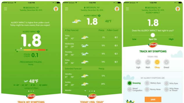 10 Great Apps for Living with Allergies