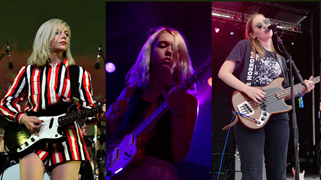 Watch Alvvays, Snail Mail and Hatchie Cover The Hummingbirds Live