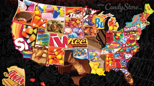 The Top Halloween Candy in Your State Probably Isn't What You Think