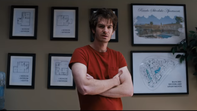 Andrew Garfield Adds Up the Clues in
