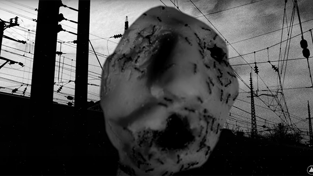 "Watch David Lynch's Thought Gang Visual Companion Piece, ""Ant Head"""