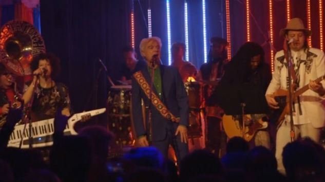 Arcade Fire and David Byrne Cover Talking Heads at Benefit Concert