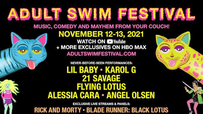 Adult Swim Festival 2021 Announces Full Lineup