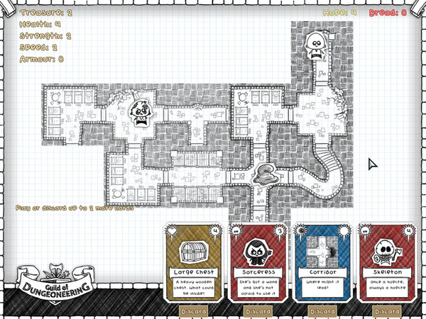 Guild of Dungeoneering: Graphic Design :: Games :: Paste