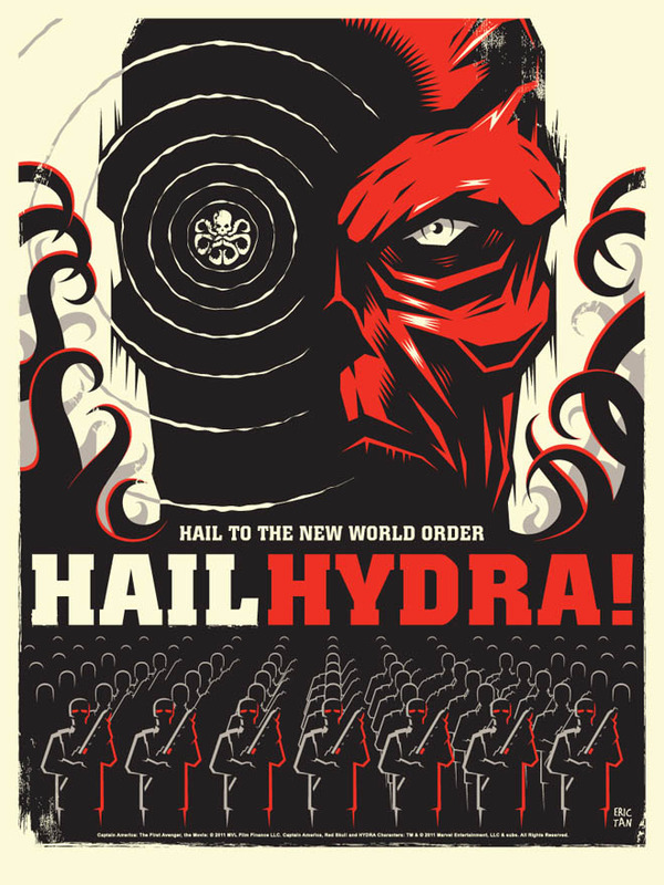 First Avenger Mondo Hydra Propganda Poster by Eric Tan.jpg