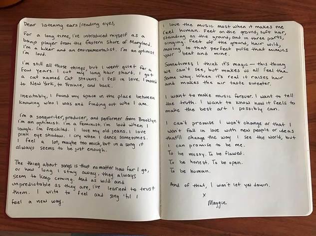 Maggie Rogers Letter.jpg