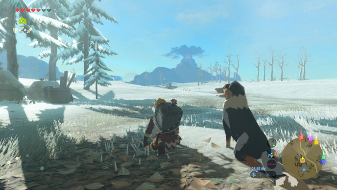 how to get dogs in botw