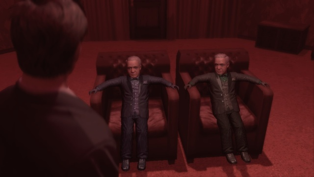 Twins Deadly Premonition Twin Peaks