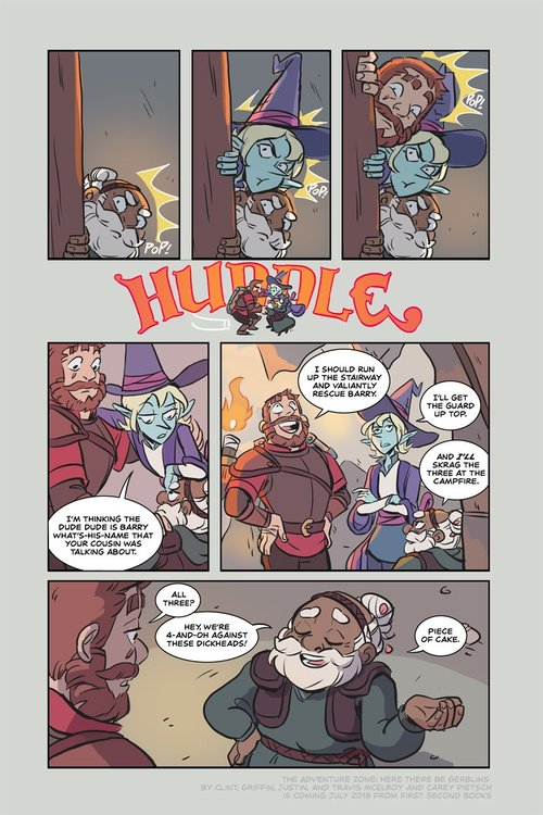 The Adventure Zone and the Limits of Fandom Ownership :: Comics :: Features :: The Adventure